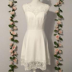 NWOT Stunning White Lace Dress